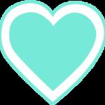 corazon turqueza