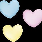 corazones lluvia de amor