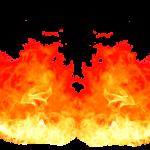fuego efecto fondo