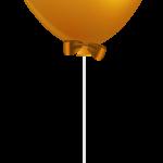 globo amarillo fuerte