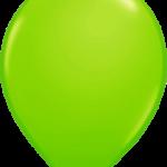 globo verde manzana 1