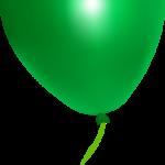 globo verde navidad