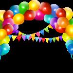 globos arco colores666