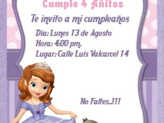 invitacion SOFIA1