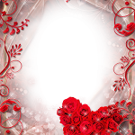 marco fondo amor corazones