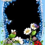 marco foto flores