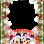 marco foto mickey mouse navidad