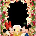 marco romantico mickey y minnie