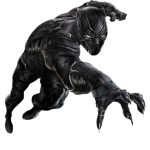 vengadores pantera negra clipart 1