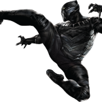vengadores pantera negra clipart 24
