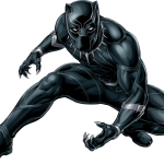 vengadores pantera negra clipart 26