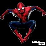 vengadores spiderman clipart 20