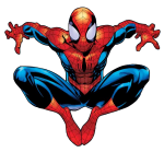 vengadores spiderman clipart 8