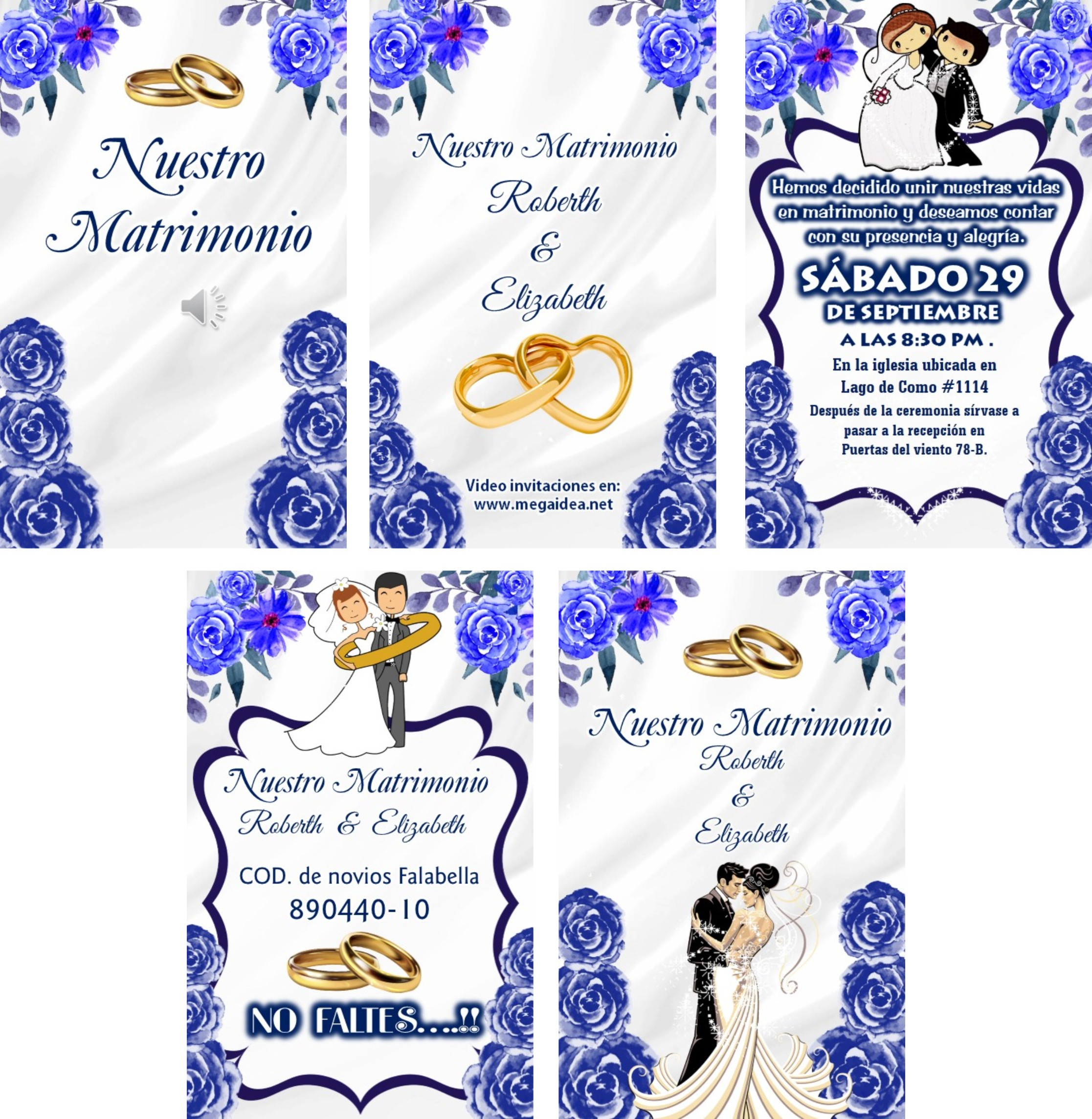 video invitacion matrimonio