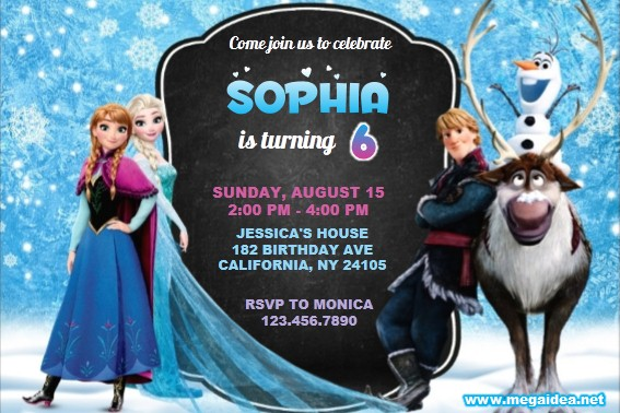 Invitation Frozen