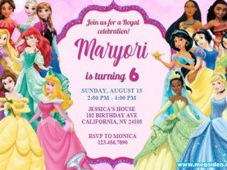 Invitation Princess