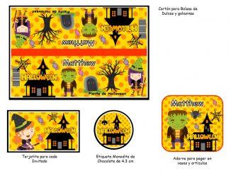 Kit Imprimible de Halloween 3