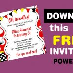 MINNIE MOUSE INVITATION, Minnie Mouse Birthday Invitation