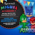 PJ Masks Invitation FREE, PJ Masks Party, Pj Masks Birthday Party, Pj Masks invite