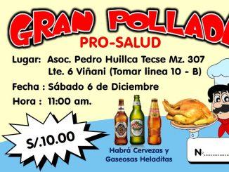 Ticket Pollada PRO SALUD
