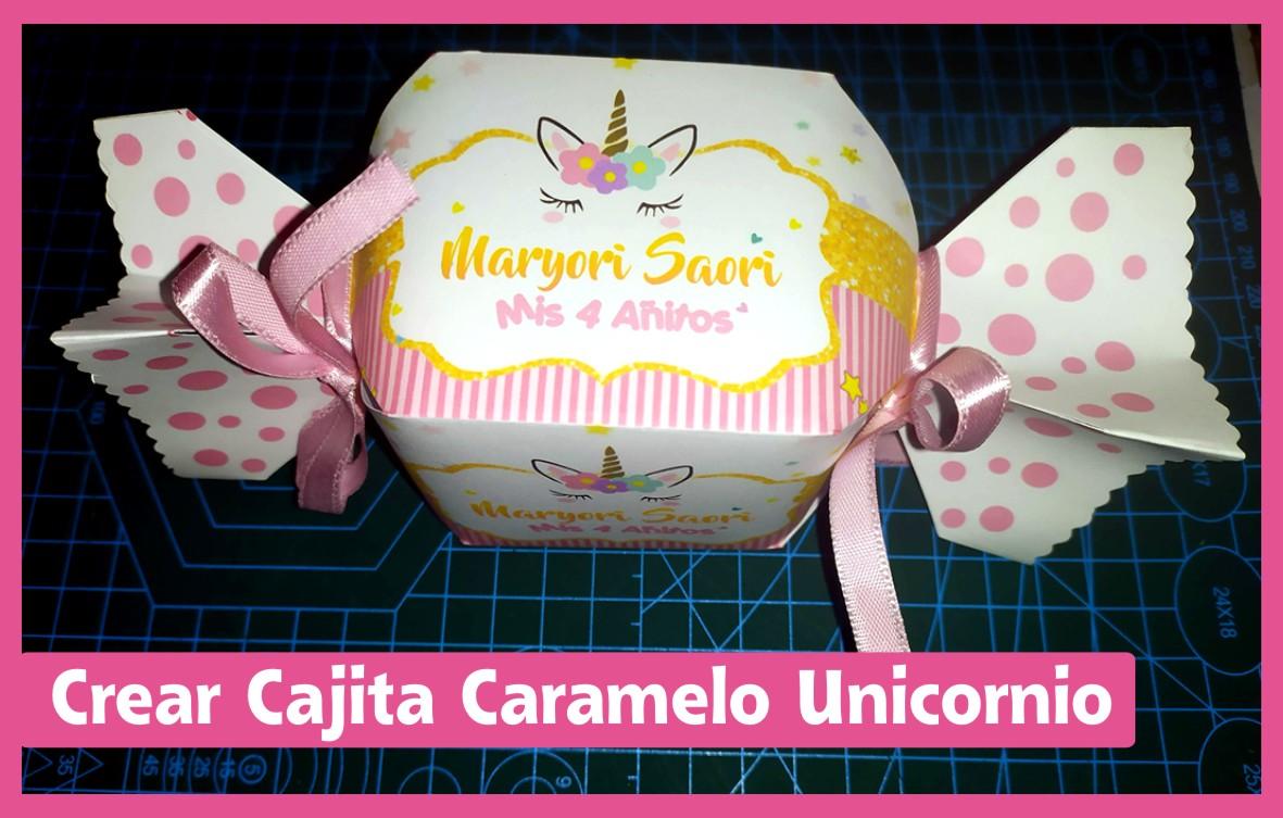 cajita caramelo unicornio 1