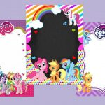 Fondos para Invitaciones de My Little Pony