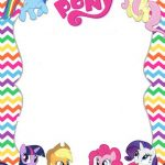 fondo invitacion my little pony