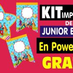 Kit Imprimible Junior Express en PowerPoint