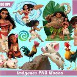 Imágenes PNG de Moana