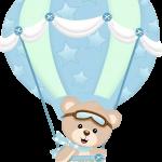 Imágenes de Osito Globo – Baby Shower