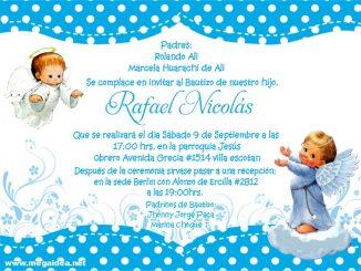 Bautizo Invitacion