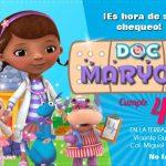 Plantilla Invitación de la Doctora Juguete – Doc McStuffins Invitation FREE