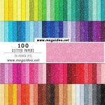 100 Papeles Digitales Glitter – Digital Paper Free