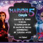 Plantilla Invitación Frozen 2 – Frozen 2 Invitation FREE