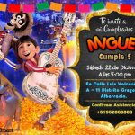 Invitación de Coco Pelicula – Coco Birthday Invitation FREE