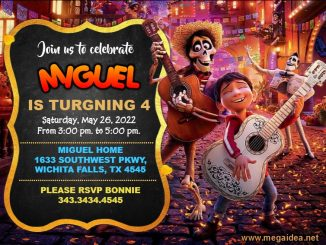 Invitation Coco