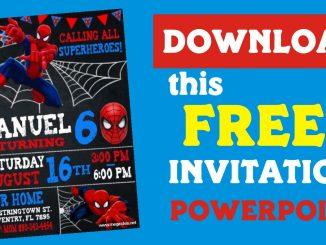 Invitation spiderman youtube