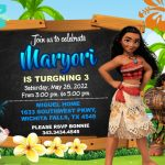Moana Invitation FREE, Moana Birthday Invitation, Moana Party Invitation