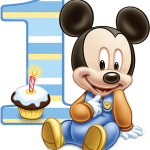 mickey baby one
