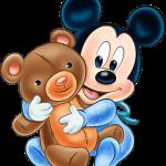 mickey baby osito