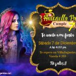 Invitación Descendientes en PowerPoint – Descendants 3 invitation