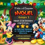 Invitación de Mickey y sus Amigos en PowerPoint