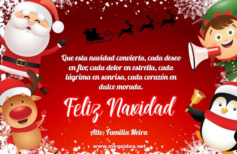 Plantilla Tarjeta De Navidad 02 Personalised Christmas