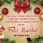 Plantilla Tarjeta de Navidad 03 – Personalised Christmas Card Free 3