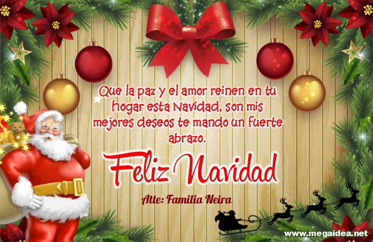 Plantilla Tarjeta De Navidad 03 Personalised Christmas