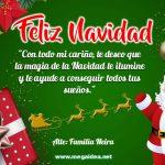 Plantilla Tarjeta de Navidad 04 – Personalised Christmas Card Free 4