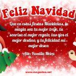 Plantilla Tarjeta de Navidad 05 – Personalised Christmas Card Free 5