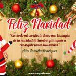 Plantilla Tarjeta de Navidad – Personalised Christmas Card Free
