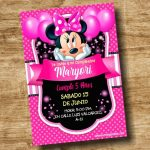 Minnie Rosada en PowerPoint Editable