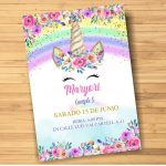 Plantilla de Unicornio en PowerPoint – Unicorn Invitation